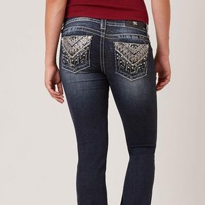 Miss Me Signature Boot Stretch Jeans